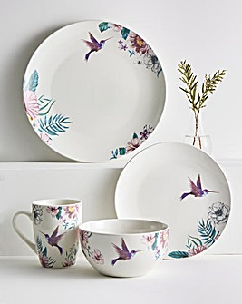 Birds 16 Piece Dinner Set