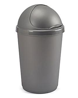 50L Plastic Bin Grey
