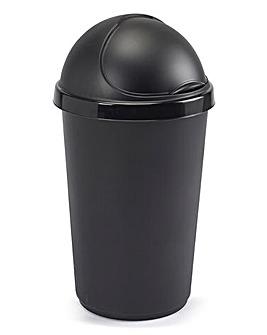 30L Plastic Bin Black