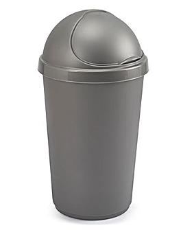 30L Plastic Bin Grey