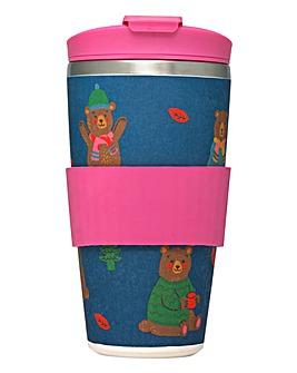 Cath Kidston Woodland Bear Travel Cup