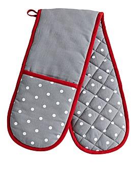 Polka Dot Oven Glove