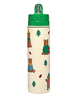 Cath Kidston Woodland Bear Water Bottle