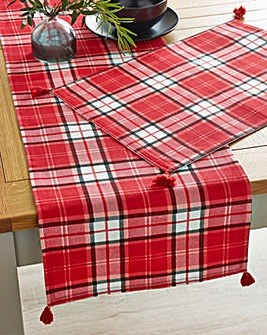 Check Table Runner and Placemats