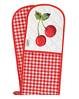 Cath Kidston Small Gingham Double Oven Glove