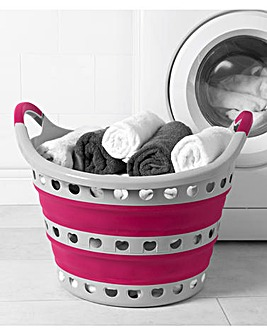 Kleeneze 50L Collapsible Laundry Basket