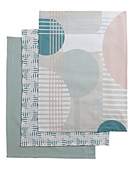 Helsinki Set of 3 Tea Towels