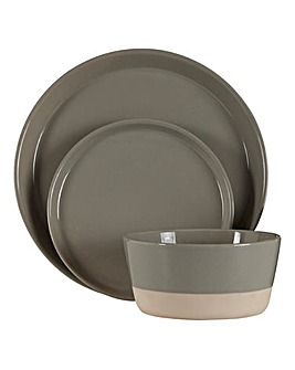Middag 12 Piece Stoneware Dinner Set