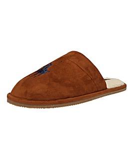 Polo Ralph Lauren Klarence Big PP Microsuede Slippers