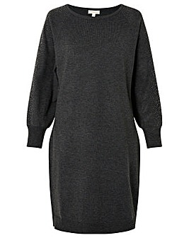 Monsoon Scatter Sleeve Dolman Dress