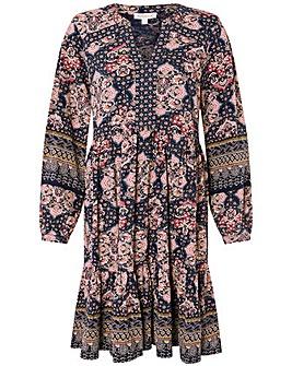 Monsoon Rowan Heritage Print Short Dress
