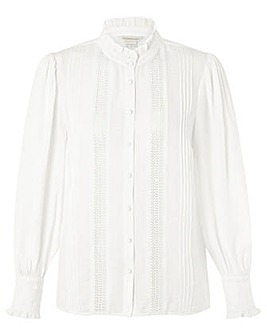 Monsoon Ivory Victoriana Blouse