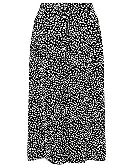 Monsoon HEART MONO MIDI SKIRT