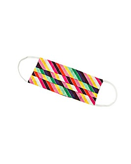 Accessorize Rainbow Cotton Face Cover