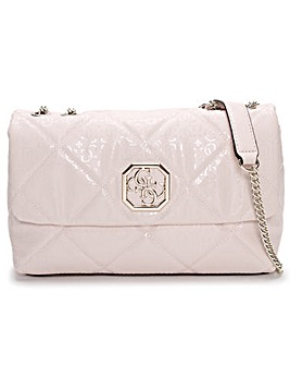 Guess Dilla Quilted Repeat Logo Cross-Body Bag