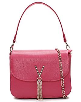 Valentino Bags Divina Pebbled Shoulder Bag