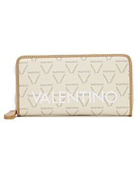 Valentino Bags Liuto Repeat Logo Zip Around Wallet
