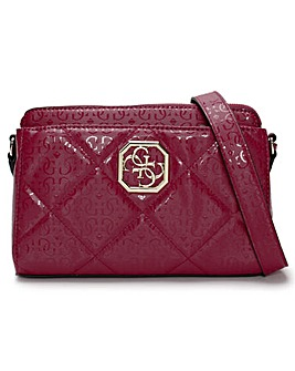 Guess Dilla Girlfriend Repeat Logo Cross-Body Bag