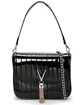 Valentino Bags Bongo Patent Satchel Bag