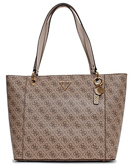 Guess Noelle Elite Repeat Logo Tote Bag