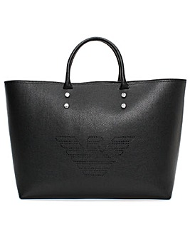 Emporio Armani Eagle Shopper Bag