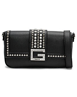Guess Bling Pebbled Shoulder Bag