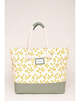 Brakeburn Garden Flower Beach Bag