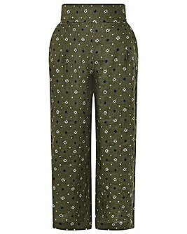 Monsoon Marnie Linen Crop Trousers