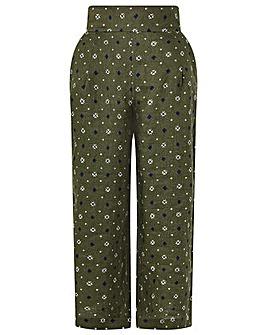 Monsoon Marnie Linen Crop Trousers