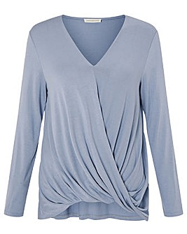Monsoon Wendy Jersey Wrap Top
