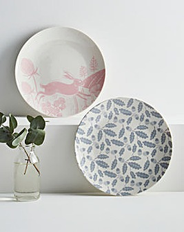 Artisan Hare Set of 4 Side Plates