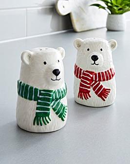 Polar Bear Salt and Pepper Shaker