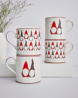 Gonk Set of 4 Mugs