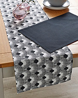 Shanghai Table Runner and 4 Placemats