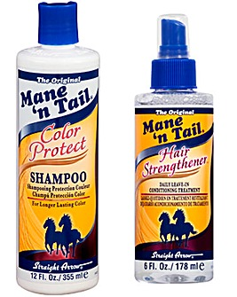 Mane 'n Tail Color Protect Shampoo & Hair Strengthener Kit