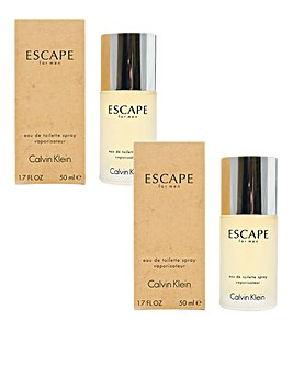 CK Escape Homme 50ml EDT Duo Set