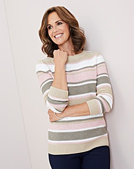 Julipa Cotton Mix Stripe Jumper