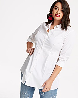 The Fit and Flare White Shirt