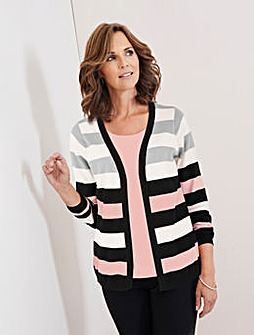 Julipa Stripe Mock Jumper