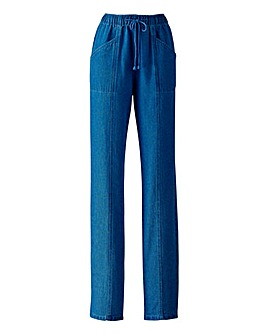 Drawcord Jeans Length 31inches