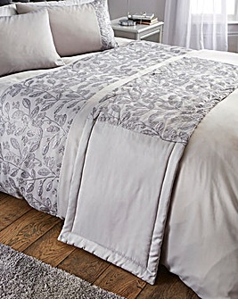 Sasha Metallic Embroidered Runner