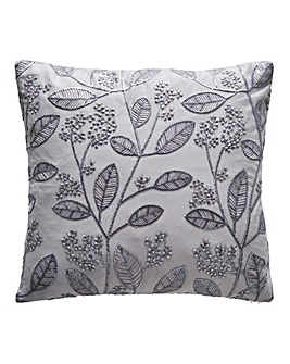 Sasha Metallic Embroidered Cushion