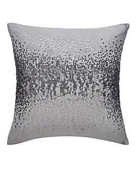 Cier Sequin Silver Cushion