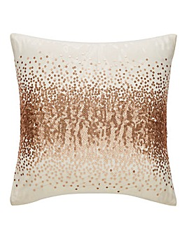 Cier Sequin Champagne Cushion