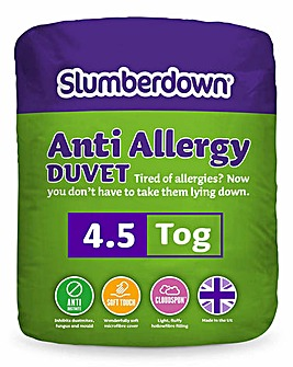 Slumberdown Anti Allergy Duvet 4.5 Tog