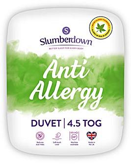Slumberdown Anti Allergy Duvet 4.5 Tog