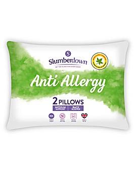 Slumberdown Anti Allergy Pillow Pair