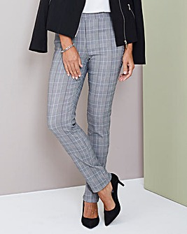 Julipa Stretch Check Trouser