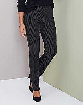 Julipa Stretch Stripe Trouser