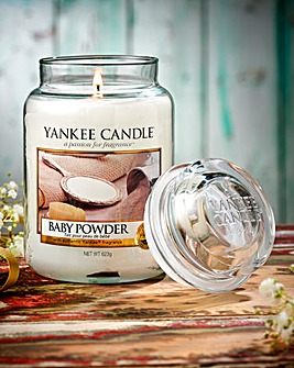Yankee Candle Baby Powder Large Jar Candle
